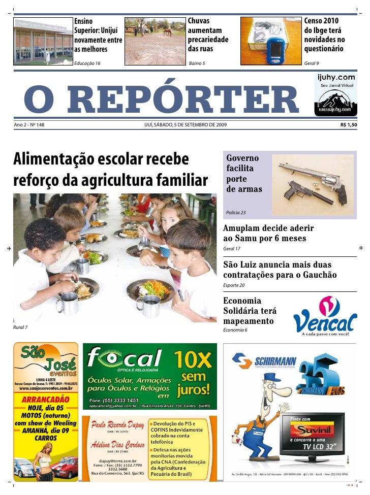 Ensino                               Chuvas                            Censo 2010                  Superior: Unijuí       ...
