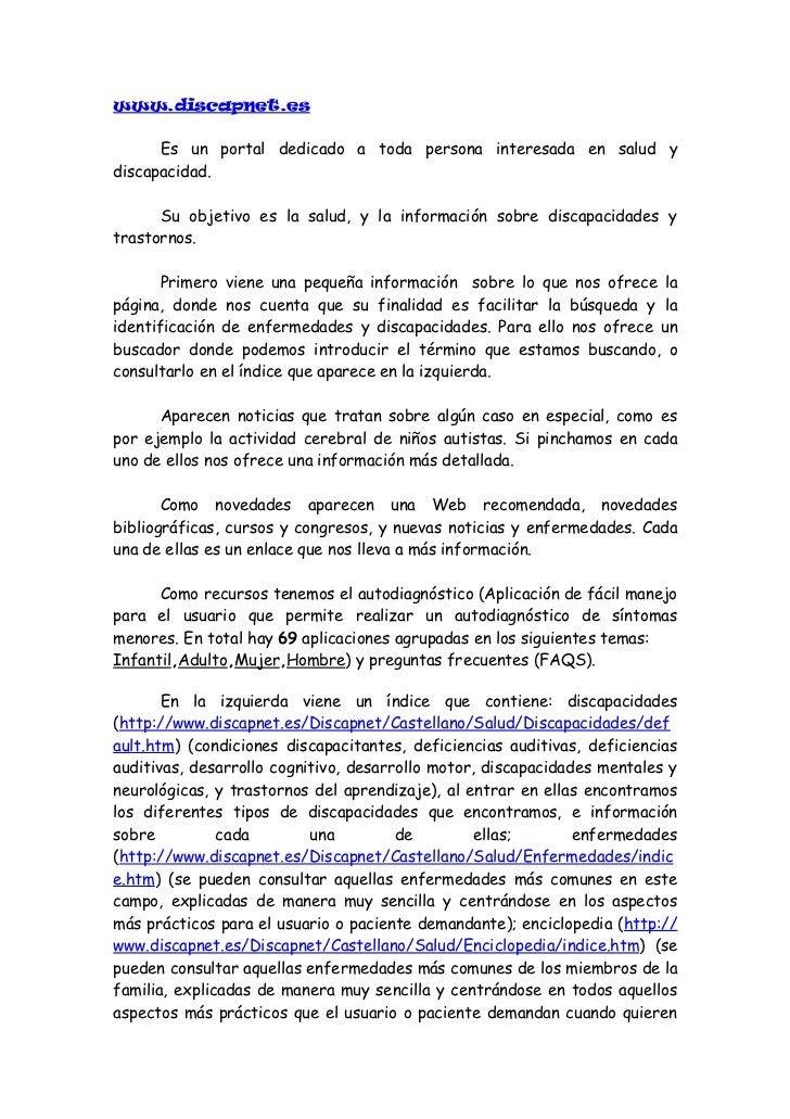 consultar    con     un  profesional    médico);    guías   de    la   salud(http://www.discapnet.es/Discapnet/Castellano/...