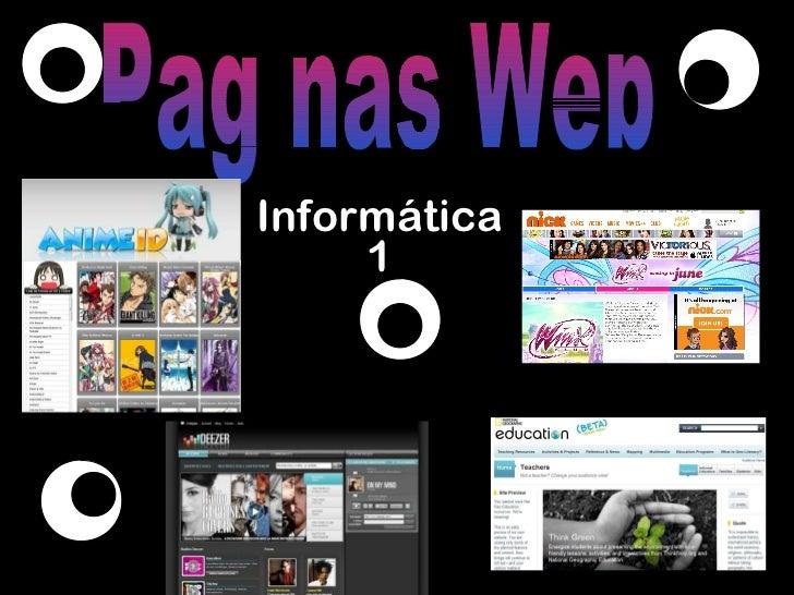 Informática 1 Paginas Web