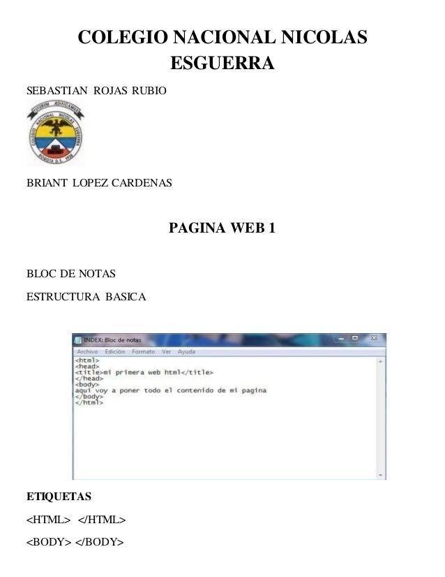 Pagina Web 2 Xd