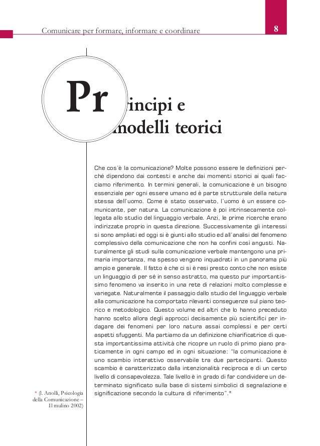 Borellini_Capire_farsicapire 11/12/12 12.41 Pagina 8              Comunicare per formare, informare e coordinare          ...