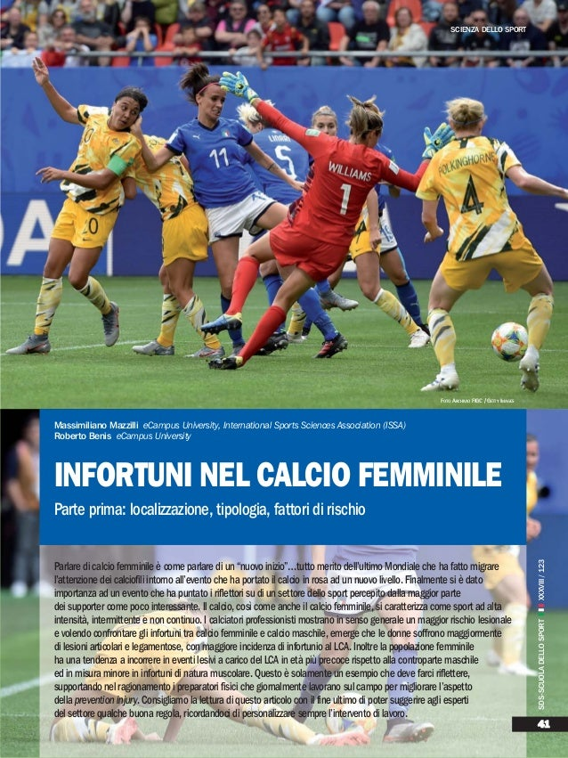 """Parlare di calcio femminile è come parlare di un """"nuovo inizio""""…tutto merito dell'ultimo Mondiale che ha fatto migrare l'a..."""
