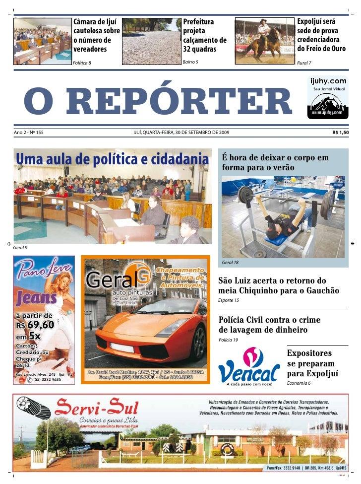 Câmara de Ijuí                         Prefeitura                            ExpoIjuí será                  cautelosa sobr...
