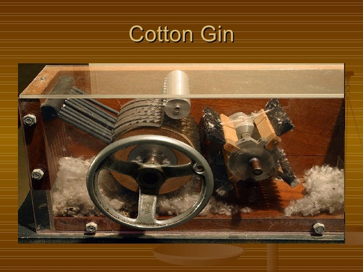 eli whitney and the cotton gin essay The cotton gin is a machine that separates cotton seeds from cotton fiber  invented by eli whitney in 1793, it was an important invention because it  dramatically.