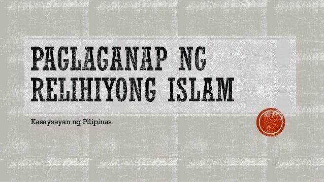 Timeline ng pagdating ng islam sa pilipinas