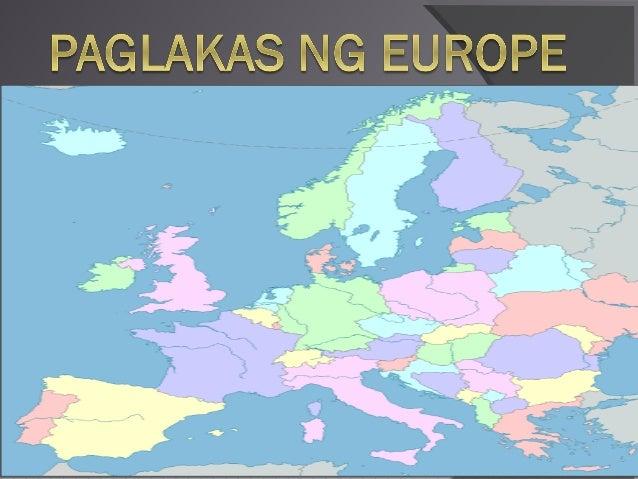 epekto sa paglakas ng europe