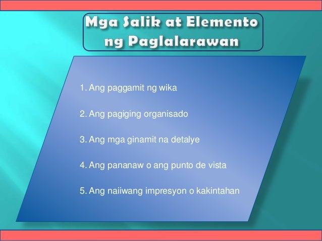 halibawa ng masining na salaysay Ipinagmamalaki ng aklat na ito ang ginamit na mga sanaysay mula sa mga   akda bilang mainam na halimbawa ng mabisang pagpapahayag.