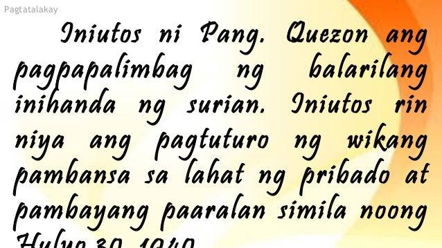 ano ang batas komonwelt bilang 570 Napatunayan na ang tagalog ang tumutugon sa mga itinakda ng batas komonwelt bilang 184, s 1936, seksiyon ideneklara niya ang wikang tagalog bilang batayan ng.