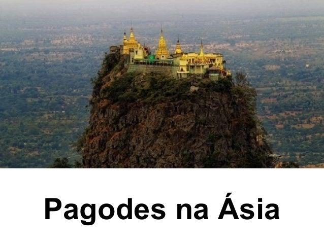 Pagodes na Ásia