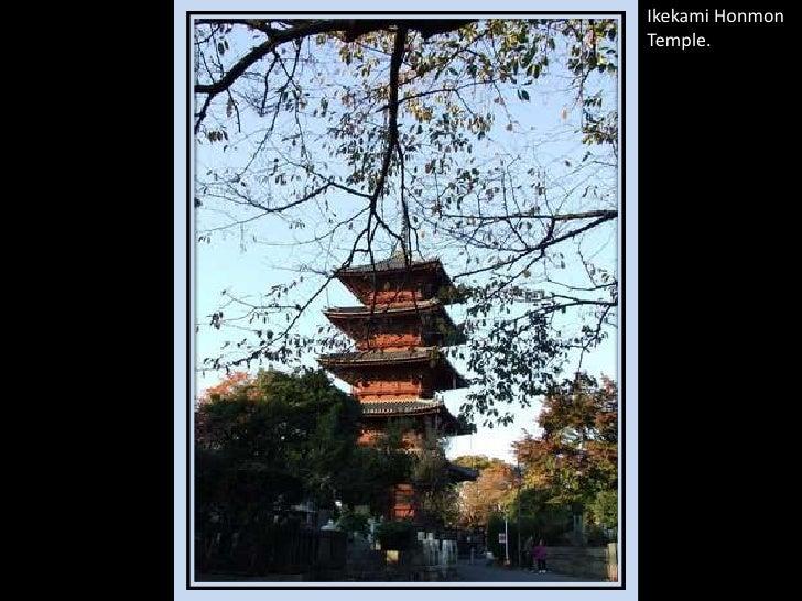 IkekamiHonmon Temple.<br />