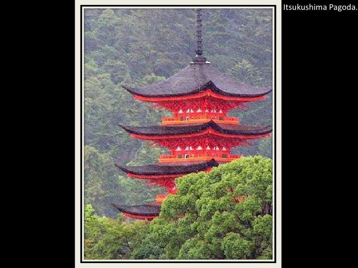 Itsukushima Pagoda.<br />