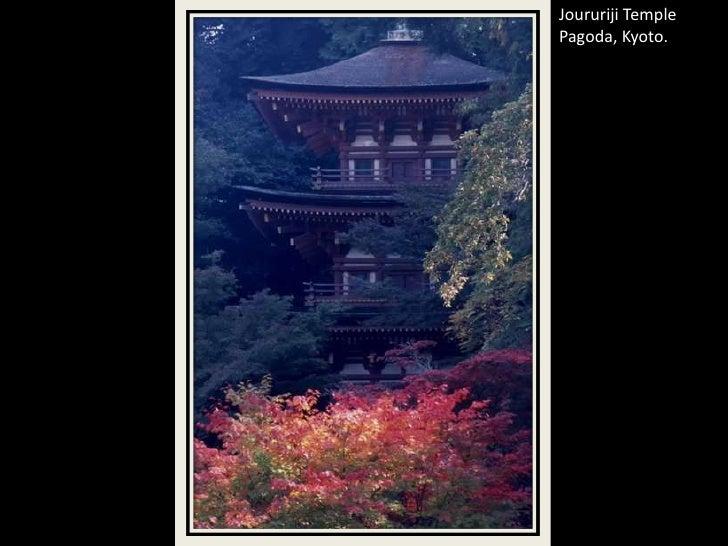 Joururiji Temple Pagoda, Kyoto.<br />