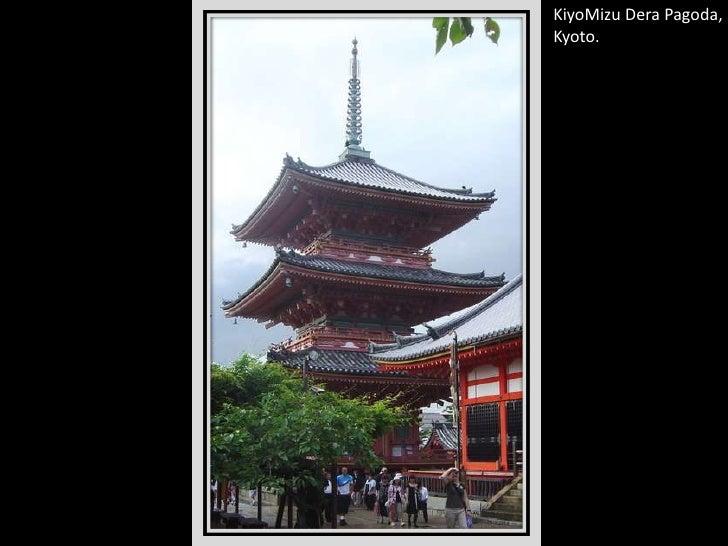 KiyoMizuDera Pagoda, Kyoto.<br />
