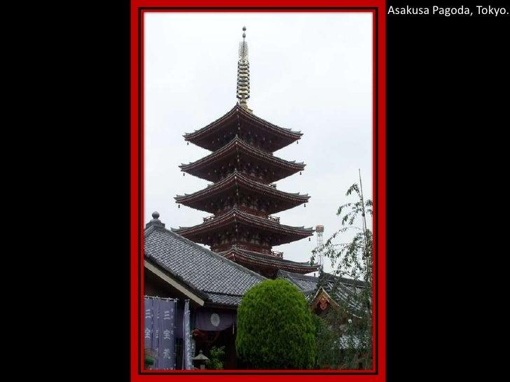 Asakusa Pagoda, Tokyo.<br />