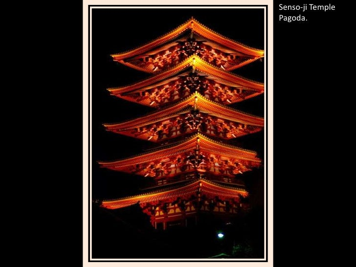 Senso-ji Temple Pagoda.<br />