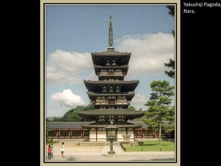 Yakushiji Pagoda, Nara.<br />