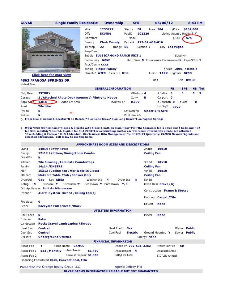 GLVAR                  Single Family Residential        Ownership           SFR           06/06/12               8:43 PM  ...