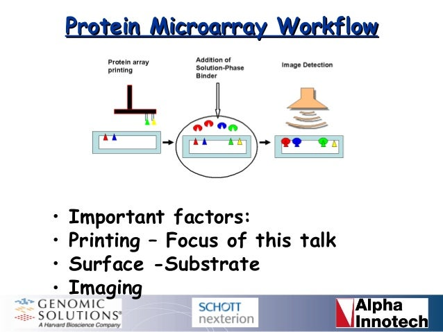 Protein Microarrays: Approaches to Printing