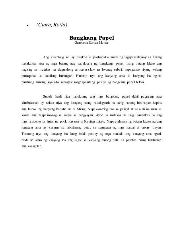 Maikling kwento tungkol sa kalikasan Research paper Academic Writing