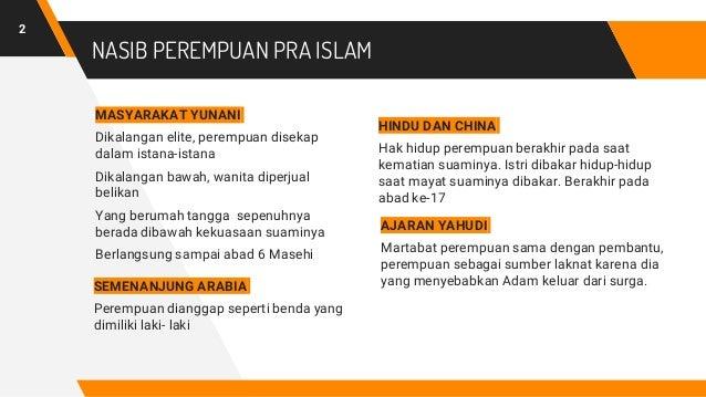 Pendidikan Agama Islam - Islam, Perempuan dan Feminisme  Slide 2