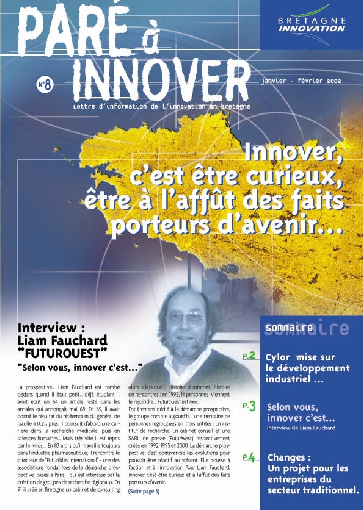 Paré à innover 8