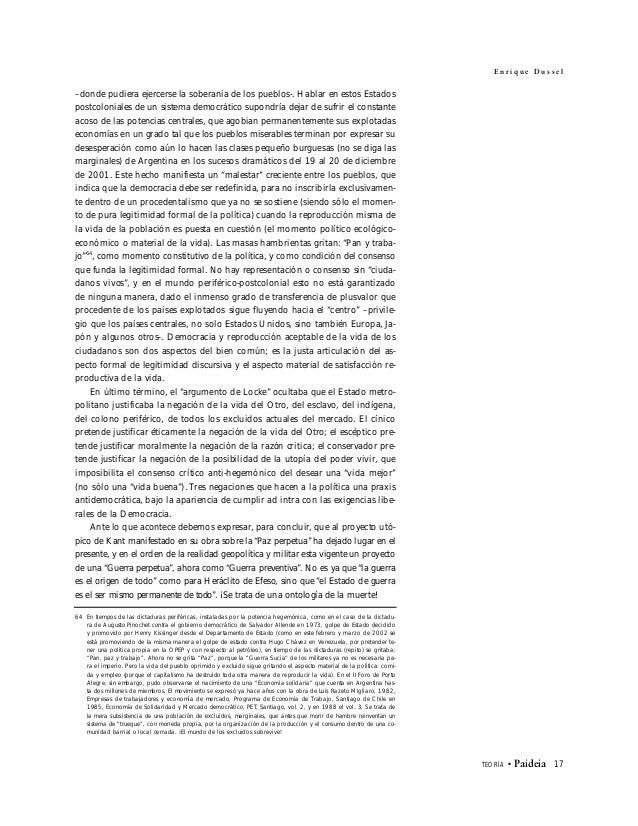 LOS NUEVOS PROCESOS DE DEPENDENCIA Y SU FORMULACIÓN TEÓRICA CONTEMPORÁNEA: HACIA UNA PERSPECTIVA DE SÍNTESIS Blanca Muñoz ...