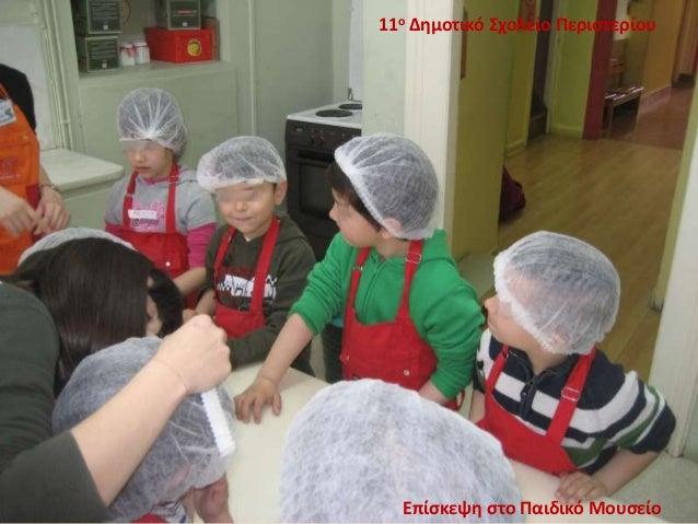 11ο Δημοτικό Σχολείο Περιστερίου Επίσκεψη στο Παιδικό Μουσείο