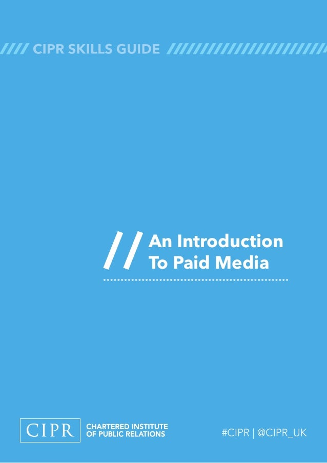 An Introduction To Paid Media//