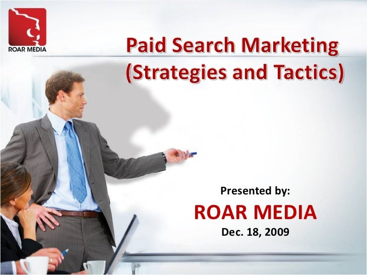 Paid Search Marketing Presentation Slide Share