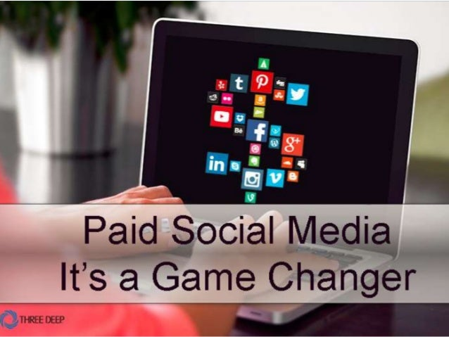   Paid Social Advertising 1 Three Deep Marketing Paid Social Advertising