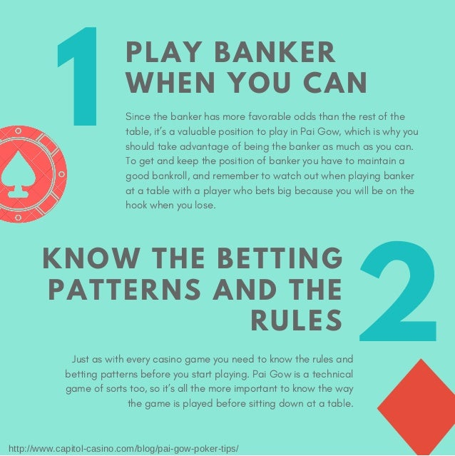 Pai Gow Poker Tips