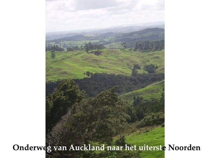 Onderwe g   van Auckland naar het uiterst e Noorden