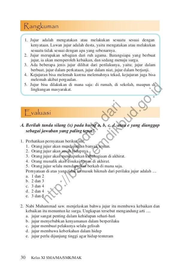 Jawaban Soal Evaluasi Agama Kelas 12 Guru Ilmu Sosial
