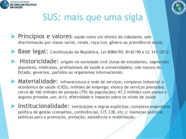O futuro do SUS, por Jairnilson Paim Slide 2