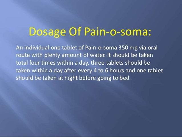 Pain O Soma Right Choice For Instant Pain Relief