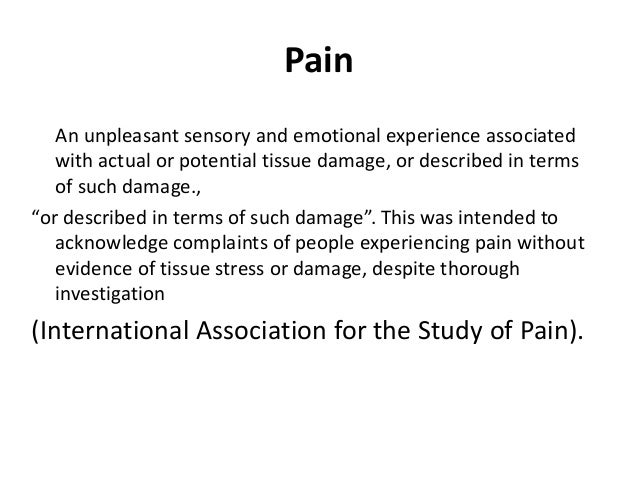 assessment and physiotherapy management of pain in elderly  Slide 2