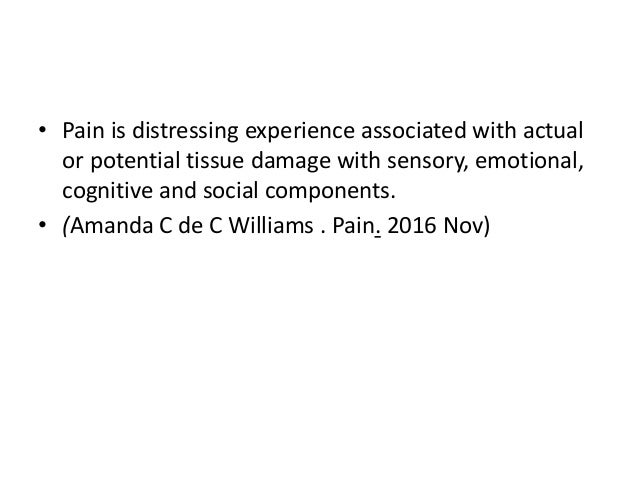 assessment and physiotherapy management of pain in elderly  Slide 3