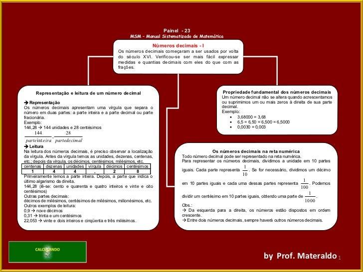 by  Prof. Materaldo