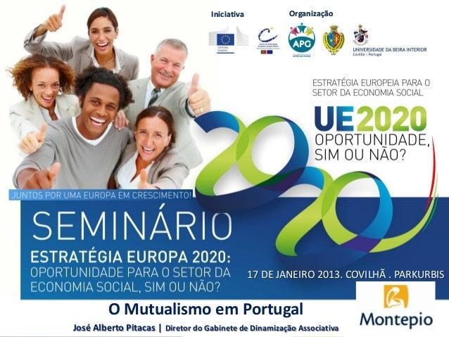 Iniciativa           Organização                                                17 DE JANEIRO 2013. COVILHÃ . PARKURBIS   ...