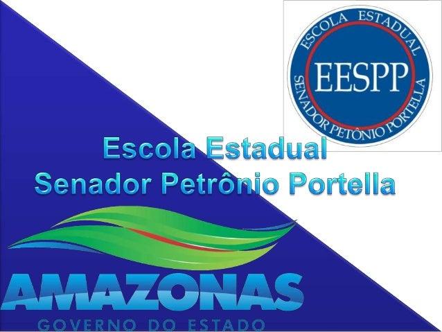 ESCOLA ESTADUAL SENADOR PETRÔNIO PORTELLA            PAINEL À VISTA 2011