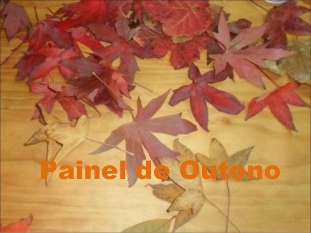 Painel de Outono