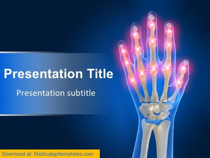 Presentation Title Presentation subtitle Download at: Medicalppttemplates.com