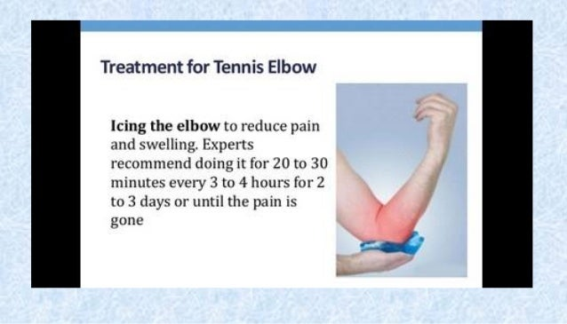 Tennis Elbow Pain Extending Arm