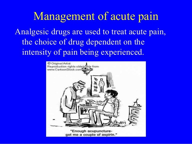 importance of postoperative pain management Provide the patient with education and information about pain control # emphasise the importance of a factual report of pain, avoiding stoicism or exaggeration the patient information project is a useful source of information for patients who require information about anaesthesia and postoperative pain management.