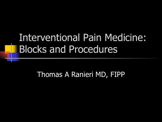 interventional pain management pdf