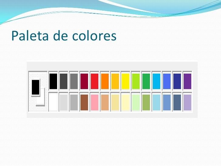 Paint - Paleta de colores pared ...