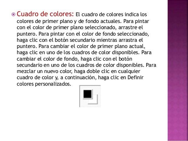  Relleno de color: Utilice Relleno con color para rellenar toda la imagen o una forma delimitada con color. Haga clic en ...