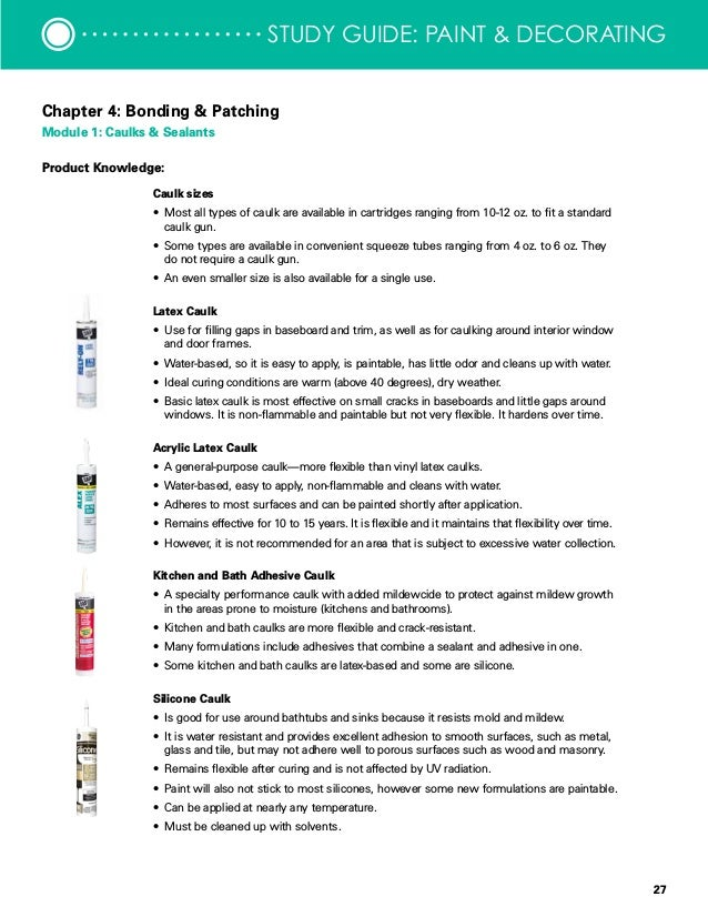Taking It To The Floor 27 Study Guide Paint