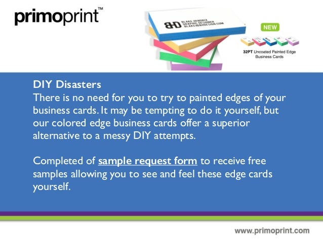 New painted edge business cards diy disasters reheart Gallery