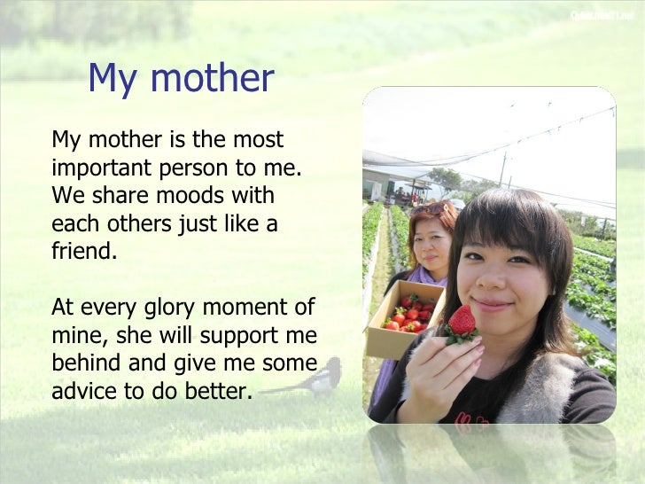 essay on the most influential person in my life Mother: the most important person in my life i wouldn't be able now to enjoy this minute of my life writing this essay the most influential person in my life.